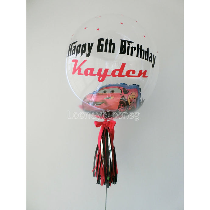 ADD ON: Replace mini balloons with foil balloon in 24