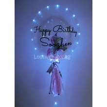 "ADD ON: Replace mini balloons with foil balloon in 24"" customise balloon  (2)"