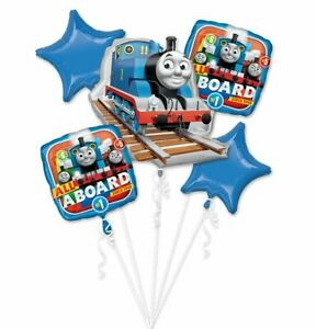 Foil balloon bouquet (Thomas & Friends)