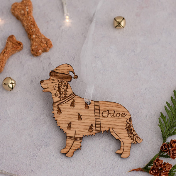 Many Dog Breeds - Personalised Christmas Bauble Decorations