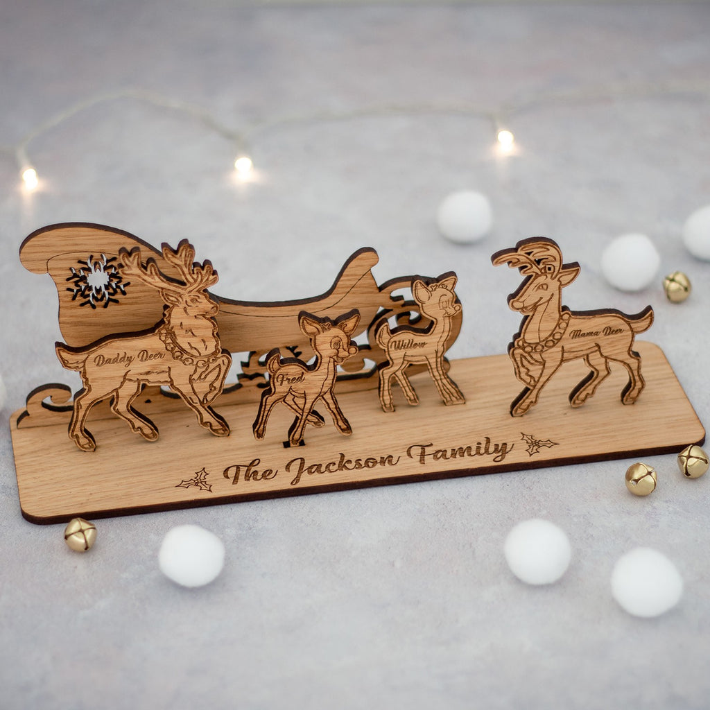 Christmas Reindeer Decoration - The Bespoke Workshop