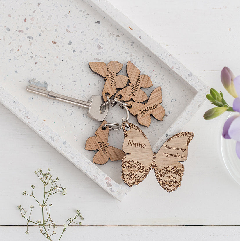 Butterfly Keyring - The Bespoke Workshop