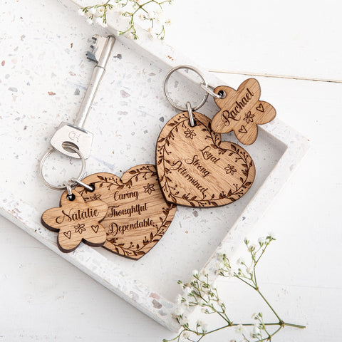 Best Friend Keyrings - The Bespoke Workshop