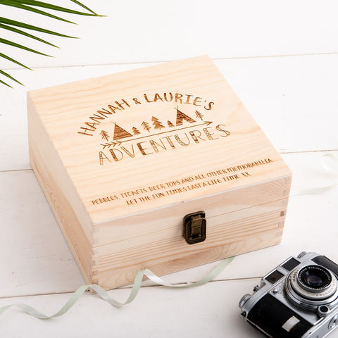 Couples Personalised Adventure Box - The Bespoke Workshop