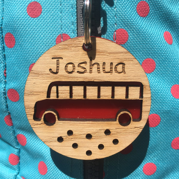 Personalised Bag Tags for Children - The Bespoke Workshop
