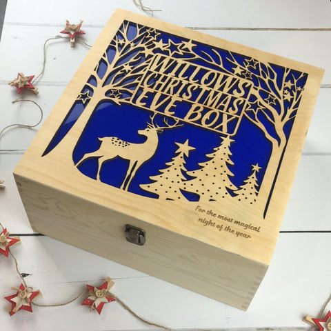 Woodland Winter Wonderland Christmas Eve Box - The Bespoke Workshop
