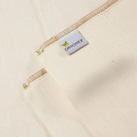 OsoCozy Organic Cotton Prefolds - Unbleached