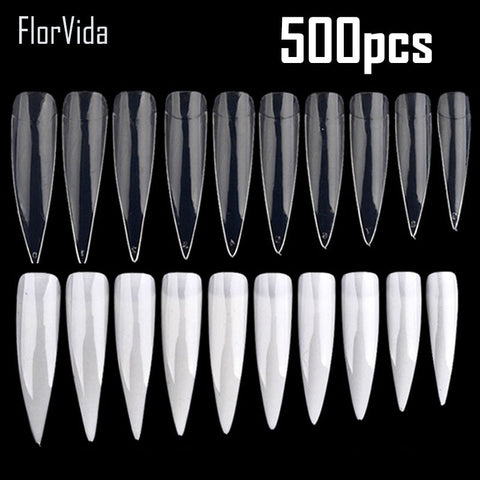 500 pcs Half Fake Nail Tips