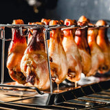 Chicken Wing Leg Rack For Grill Smoker or in the Oven