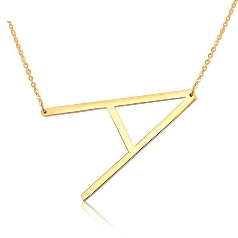 Fashion Initial Necklace - FancyGad
