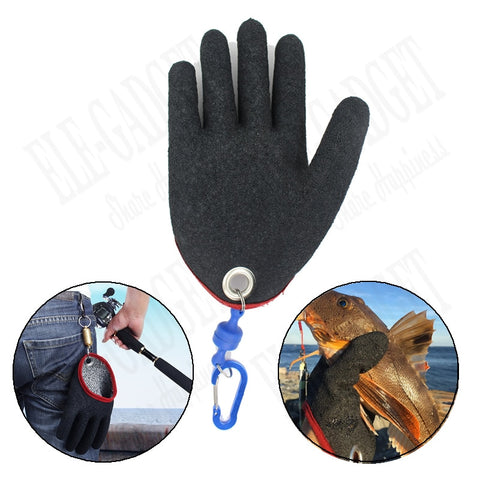 Fishing Gloves With Magnets Hook