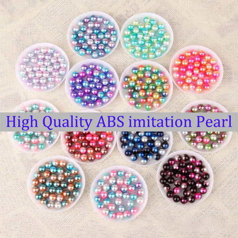 Rainbow Color Bead NO Hole