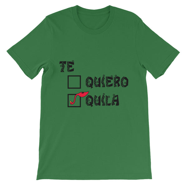 Unisex short sleeve Flabongo t-shirt - Tequila is the correct answer