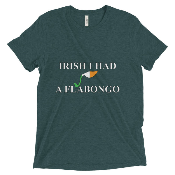 Short sleeve t-shirt - Irish I had a Flabongo