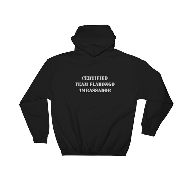 Hooded Sweatshirt - Team Flabongo AMBASSADOR