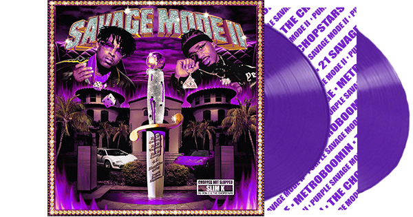 Purple Savage Mode II Vinyl