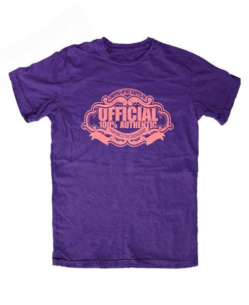 100% Official Authentic Purple Tee