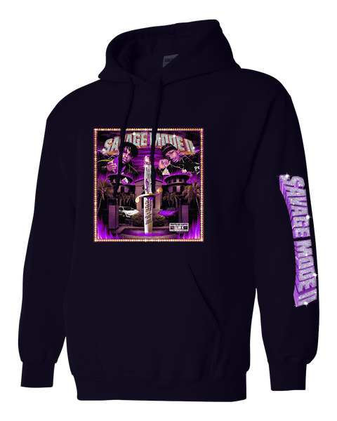 Black Savage Mode II Hoodie (Cover)