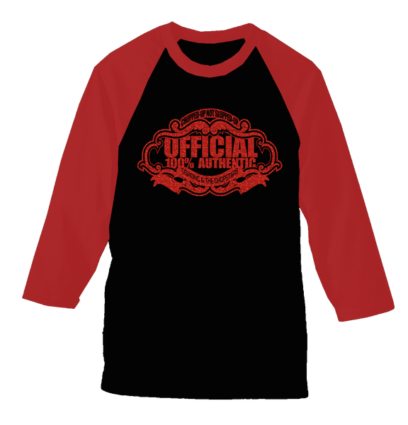 ChopStars 100% Official Baseball Glitter Tee