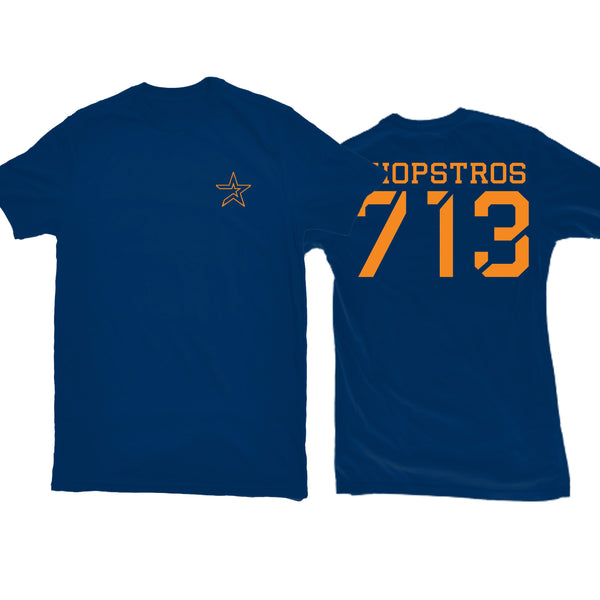 ChopStros 713 Tee (Blue)