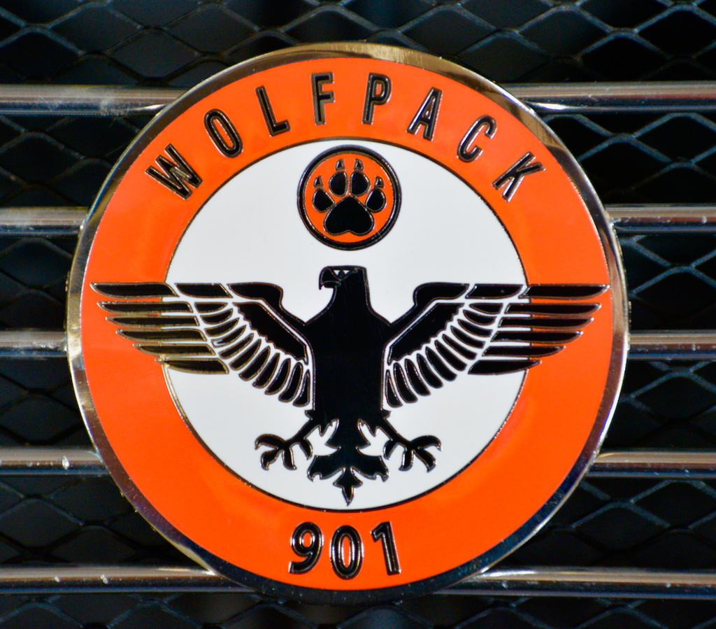 "Wolfpack 901 ""Eagle Squadron"" Member Badge"