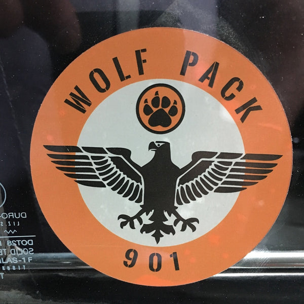 "Wolfpack 901 ""Eagle Squadron"" Window Decal"