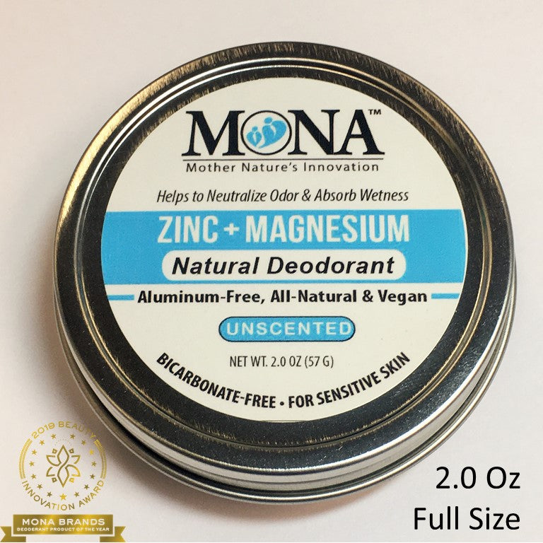 UNSCENTED; FOR SENSITIVE SKIN; 2.0 OZ JAR