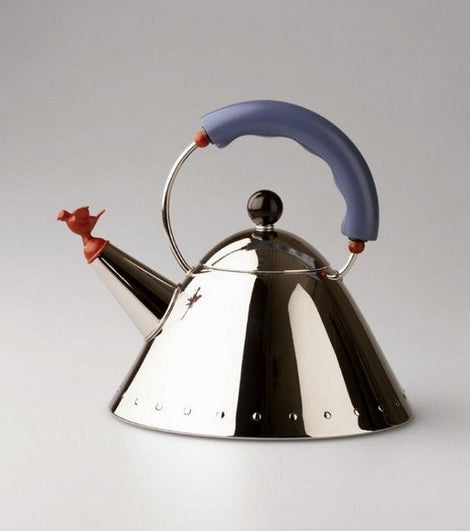 Alessi Bird Stove Top Kettle by Michael Graves