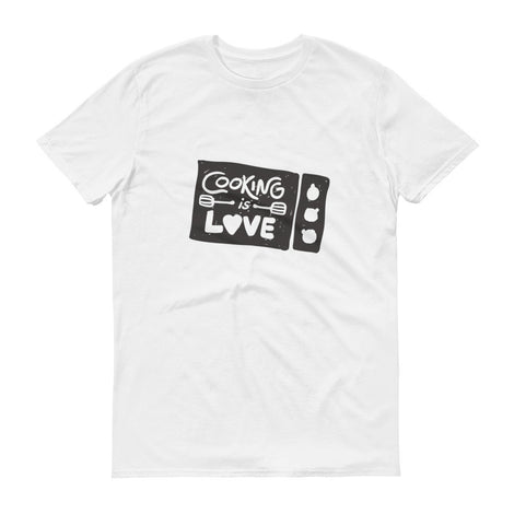 Cooking is Love Men's Short Sleeve T-Shirt