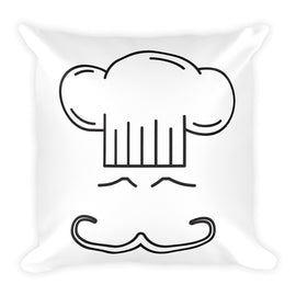 Chef Hat Square Pillow