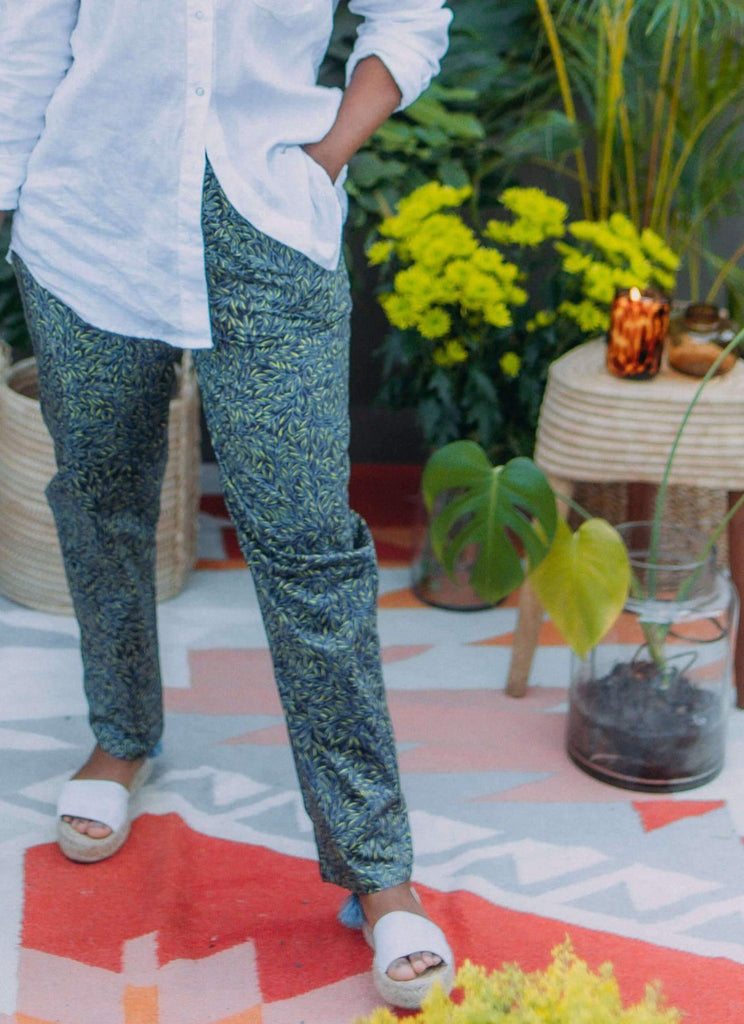 Leafy Liberty Trousers