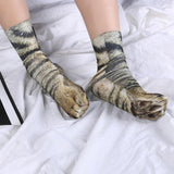 Cute Meow Paw Socks