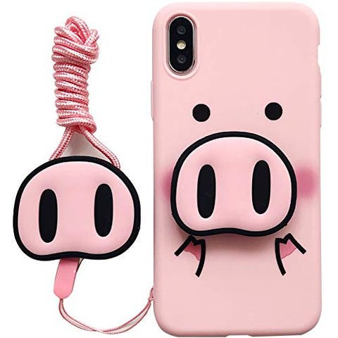 3D Piggy Phone Case Combo