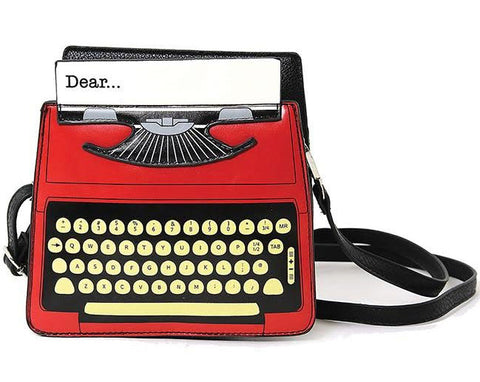 Retro Chic Typewriter Crossbody Bag