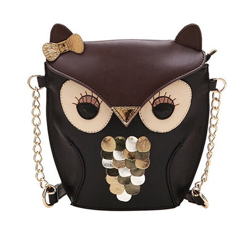 Ozzy Owl Cross Body Bag