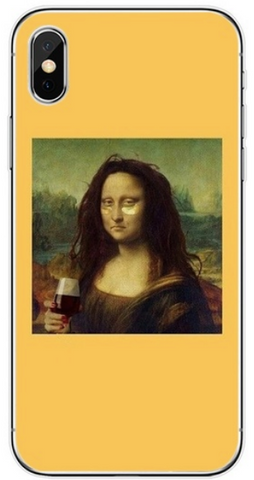 Funny Mona Lisa Phone Case