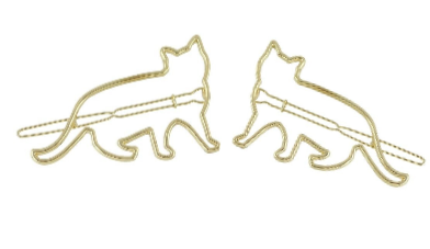Kitty Hair Clip Set