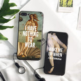 Classical Art Meme iPhone Case