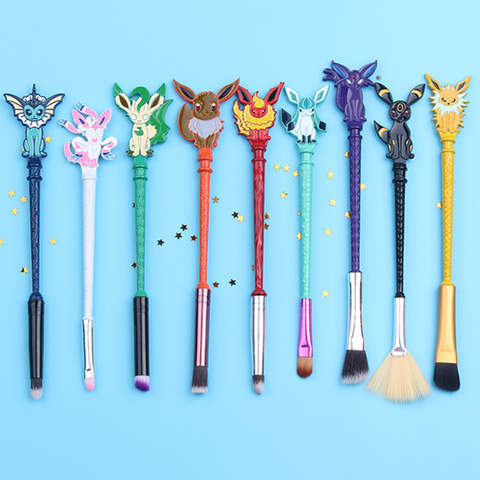 Eevee Evolutions Makeup Brush Set