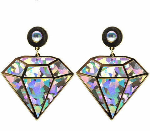 Shine Bright Like A Diamond Drop Earrings