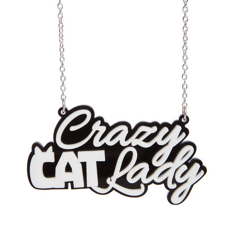Lush Crazy Cat Lady Necklace