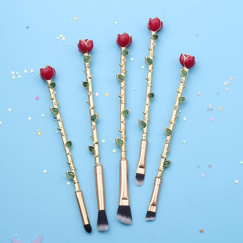 Eternal Rose Makeup Brush Set