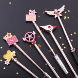 Cardcaptor Sakura Clear Card Makeup Brush Set