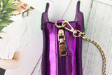 Kitsch Eggplant Crossbody Bag