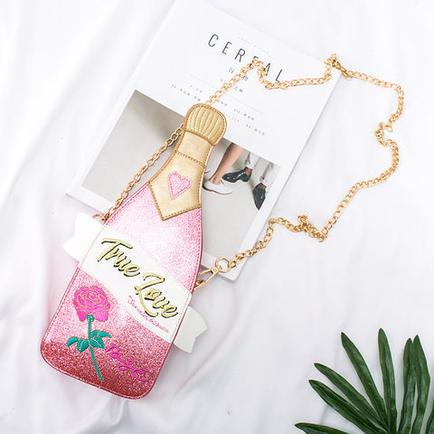 Kitsch True Love Bottle Crossbody Bag