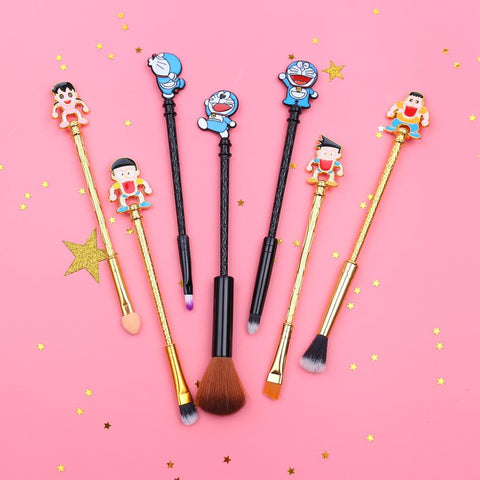 Doraemon Makeup Brush Set