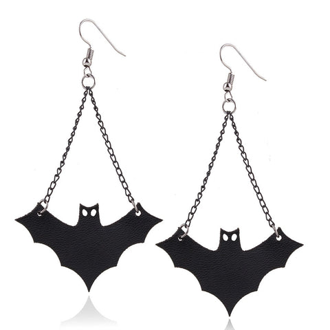 Halloween Vampire Bat Earrings