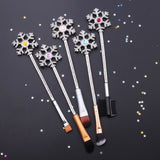 Snow Flakes Makeup Brush Set