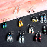 Miniature Bottled Drinks Drop Earrings