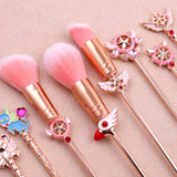 Cardcaptor Sakura Magical Girl Makeup Brush Set